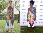 Fashion Blogger Catherine Kallon features Danai Gurira In Salvatore Ferragamo - Variety's Creative Impact Awards And 10 Directors To Watch Brunch