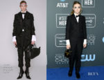 Fashion Blogger Catherine Kallon features Elsie Fisher In Thom Browne - 2019 Critics' Choice Awards