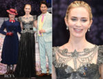 Fashion Blogger Catherine Kallon features Emily Blunt In Gucci - 'Mary Poppins Returns' Tokyo Premiere