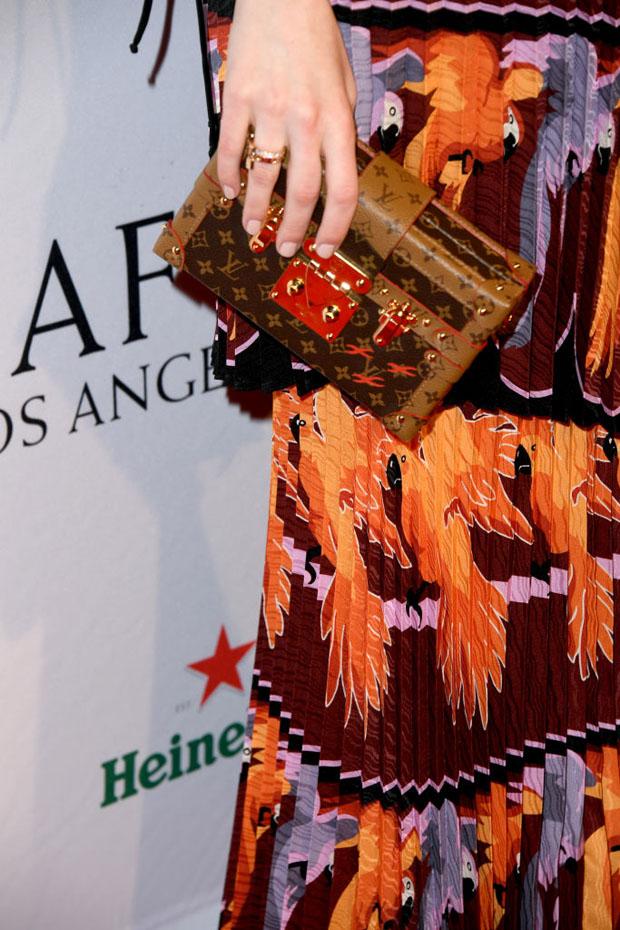 Fashion Blogger Catherine Kallon features Emma Stone In Fendi - BAFTA Los Angeles Tea Party