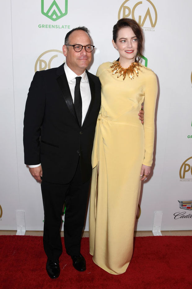 Fashion Blogger Catherine Kallon features Emma Stone In Louis Vuitton - 2019 Producers Guild Awards