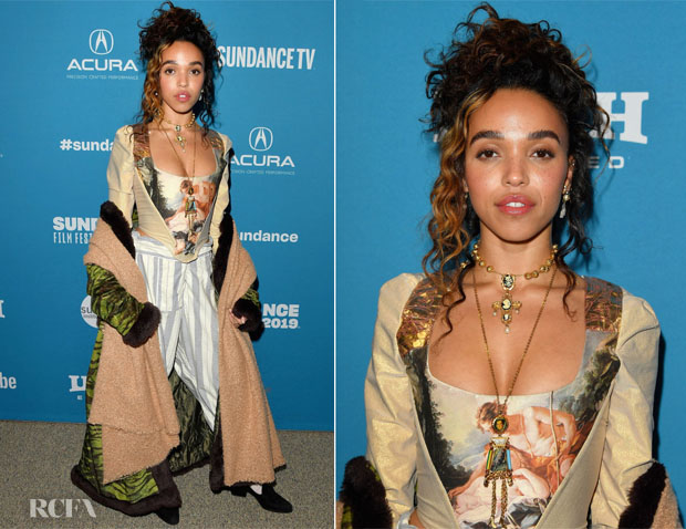 Fashion Blogger Catherine Kallon features FKA twigs In Vintage Vivienne Westwood & Jean Paul Gaultier - 'Honey Boy' Sundance Film Festival Premiere