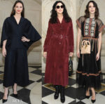 Fashion Blogger Catherine Kallon features Front Row @ Christian Dior Spring 2019 Haute Couture
