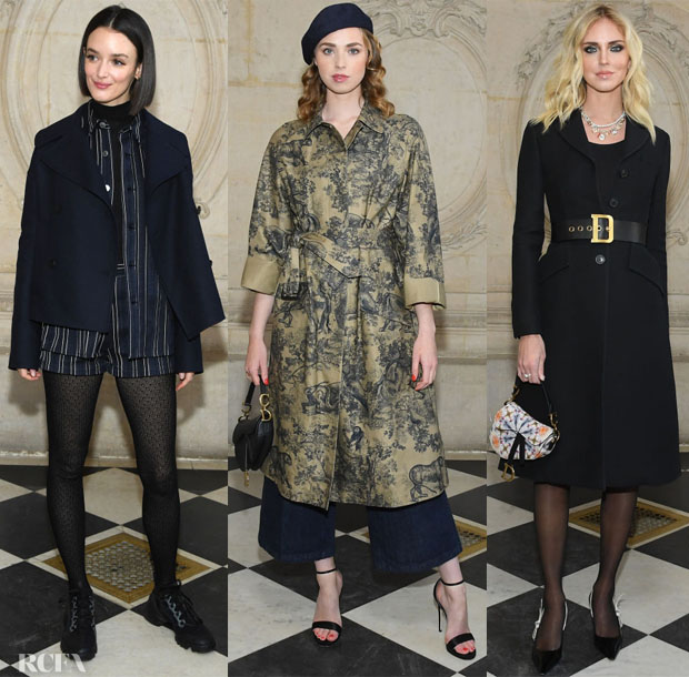 61c46f3e0 Fashion Blogger Catherine Kallon features Front Row @ Christian Dior Spring  2019 Haute Couture