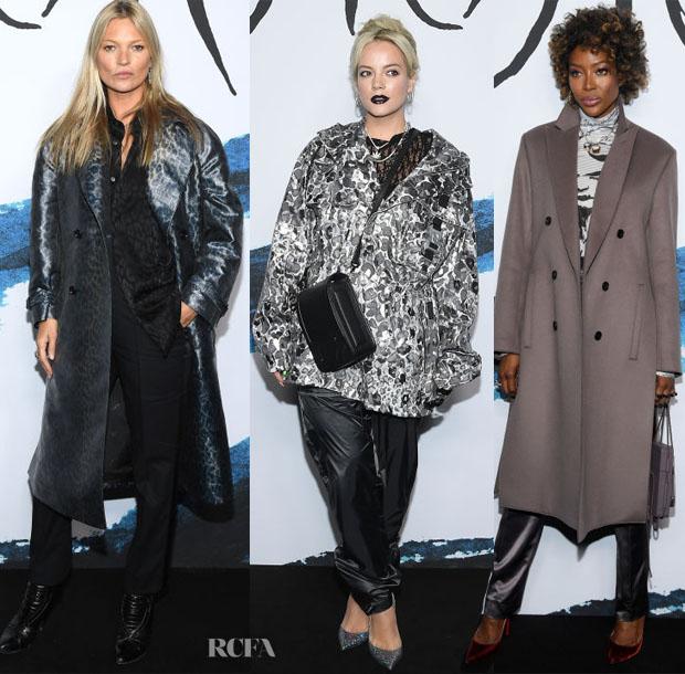 Fashion Blogger Catherine Kallon features Front Row @ Dior Men Fall 2019