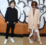 Fashion Blogger Catherine Kallon features Front Row @ Louis Vuitton Fall 2019 Menswear