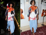 Fashion Blogger Catherine Kallon features Gabrielle Union In Pyer Moss - 'If Beale Street Could Talk' LA Screening