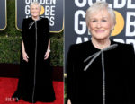 Fashion Blogger Catherine Kallon features Glenn Close In Armani Privé - 2019 Golden Globe Awards