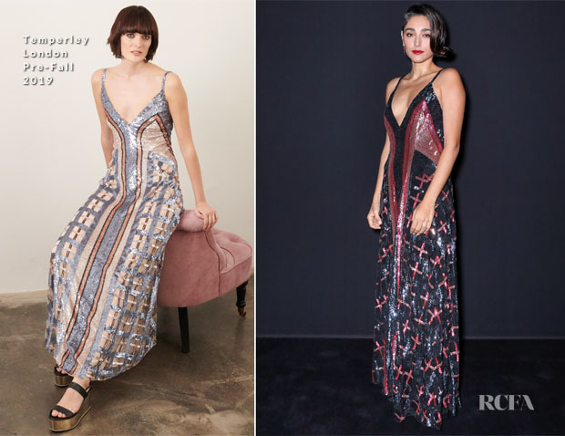 Fashion Blogger Catherine Kallon features Golshifteh Farahani In Temperley London - Les Galaxies de Cartier