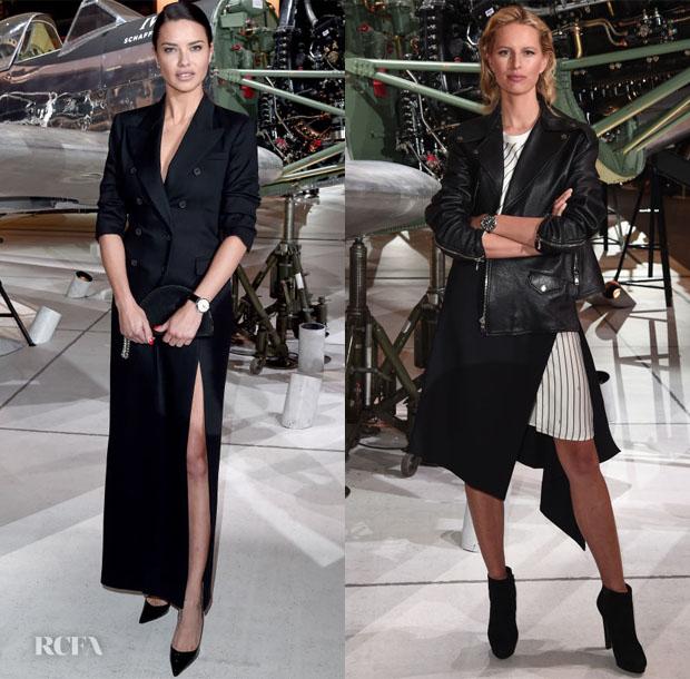 Fashion Blogger Catherine Kallon features IWC Schaffhausen at SIHH 2019 with Adriana Lima and Karolína Kurková
