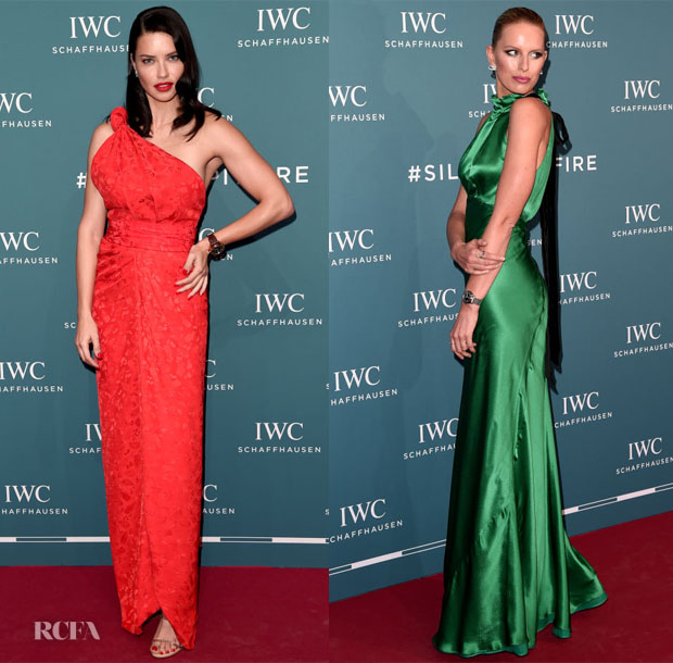 Fashion Blogger Catherine Kallon features IWC Schaffhausen at SIHH 2019 with Adriana Lima and Karolína Kurková