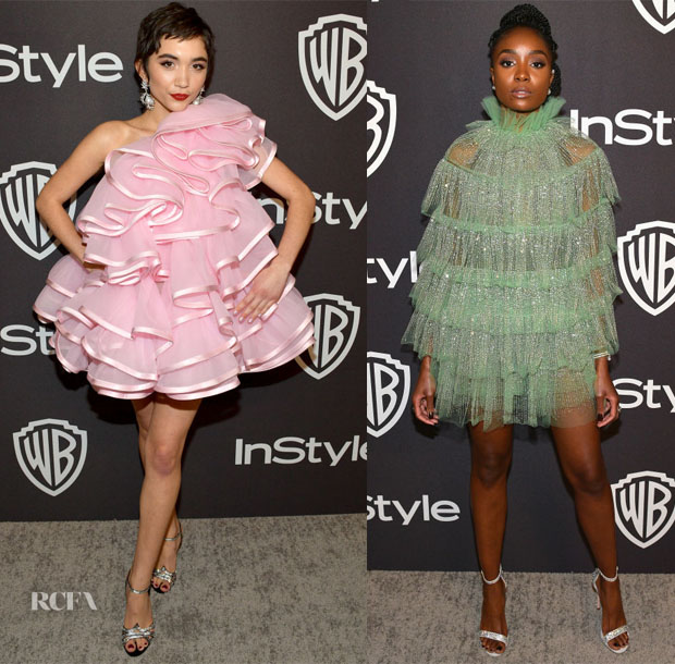 Fashion Blogger Catherine Kallon features InStyle And Warner Bros. Golden Globes After Party