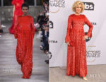 Fashion Blogger Catherine Kallon features Aja Jane Fonda In Valentino - 2019 SAG Awards