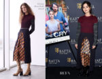 Fashion Blogger Catherine Kallon features Jenna Coleman In Chloe - 'The Cry' BAFTA New York Screening