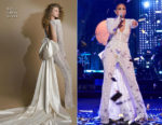 Fashion Blogger Catherine Kallon features Jennifer Lopez In Galia Lahav - NBC's New Year's Eve Season 2018