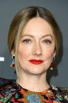 Fashion Blogger Catherine Kallon features Judy Greer In Reem Acra - 2019 Critics' Choice Awards