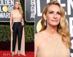 Fashion Blogger Catherine Kallon features Julia Roberts In Stella McCartney - 2019 Golden Globe Awards