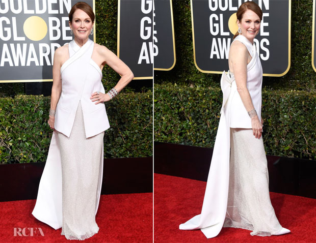 Fashion Blogger Catherine Kallon Features Julianne Moore In Givenchy Haute Couture - 2019 Golden Globe Awards
