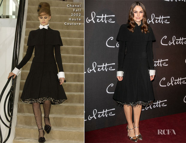 Fashion Blogger Catherine Kallon features Keira Knightley In Chanel Haute Couture - 'Colette' Paris Premiere