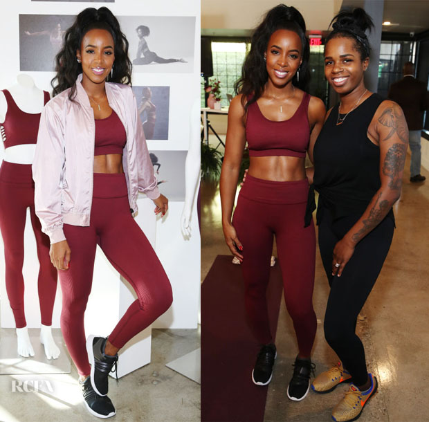 Fashion Blogger Catherine Kallon features  Kelly Rowland And Fabletics Celebrate Launch Of Kelly's Capsule Collection