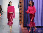 Fashion Blogger Catherine Kallon features Kerry Washington In Sally LaPointe - The Tonight Show Starring Jimmy Fallon