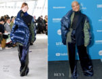 Fashion Blogger Catherine Kallon features Kiersey Clemons In Sacai -'Sweetheart' Sundance Film Festival Premiere