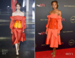 Fashion Blogger Catherine Kallon features Kiki Layne In Adeam - 2019 AFI Awards