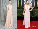 Fashion Blogger Catherine Kallon features Kristen Bell In Zuhair Murad - 2019 Golden Globe Awards