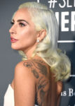 Fashion Blogger Catherine Kallon features Lady Gaga In Calvin Klein by Appointment - 2019 Critics' Choice Awards