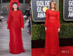 Fashion Blogger Catherine Kallon features Laura Dern In Valentino - 2019 Golden Globe Awards