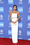 Fashion Blogger Catherine Kallon features Laura Harrier In Cushnie - 2019 Palm Springs International Film Festival Gala
