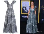 Lea Michele's Temperley London Eliska Long Dress