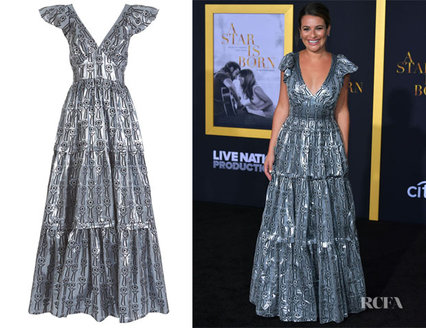 Lea Michele's Temperley London Eliska Long Dress