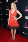 Fashion Blogger Catherine Kallon features Lucy Hale In Georges Chakra Couture - 'The Unicorn' LA Premiere