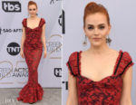 Fashion Blogger Catherine Kallon features Madeline Brewer In Brock Collection - 2019 SAG Awards