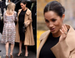 Fashion Blogger Catherine Kallon features Meghan, Duchess of Sussex In Hatch Collection & Oscar de la Renta - Smart Works Visit