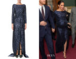 Meghan, Duchess of Sussex's Roland Mouret Sarandon Gown