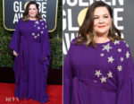 Fashion Blogger Catherine Kallon features Melissa McCarthy In Reem Acra - 2019 Golden Globe Awards