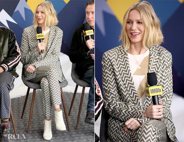 Fashion Blogger Catherine Kallon features Naomi Watts in missoni - Sundance Film Festival
