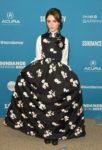 Fashion Blogger Catherine Kallon features Natalia Dyer In Moncler 4 Simone Rocha - 'Velvet Buzzsaw' Sundance Film Festival Premiere