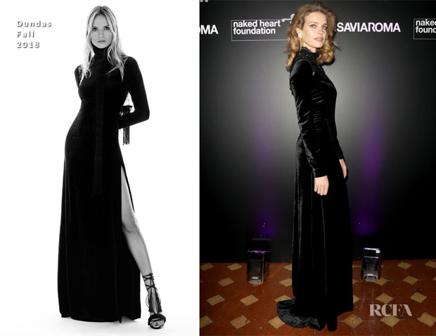 Fashion Blogger Catherine Kallon features Natalia Vodianova In Dundas - Naked Heart Foundation