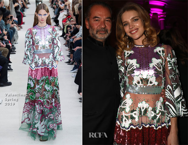 Fashion Blogger Catherine Kallon features Natalia Vodianova In Valentino - Naked Heart Foundation