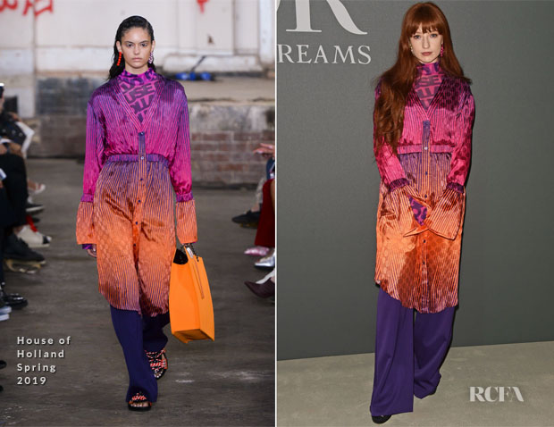 Nicola Roberts In House of Holland - 'Christian Dior