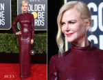 Fashion Blogger Catherine Kallon features Nicole Kidman In Michael Kors Collection - 2019 Golden Globe Awards
