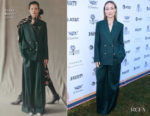 Fashion Blogger Catherine Kallon features Olivia Wilde In Erdem - Variety's Creative Impact Awards And 10 Directors To Watch Brunch