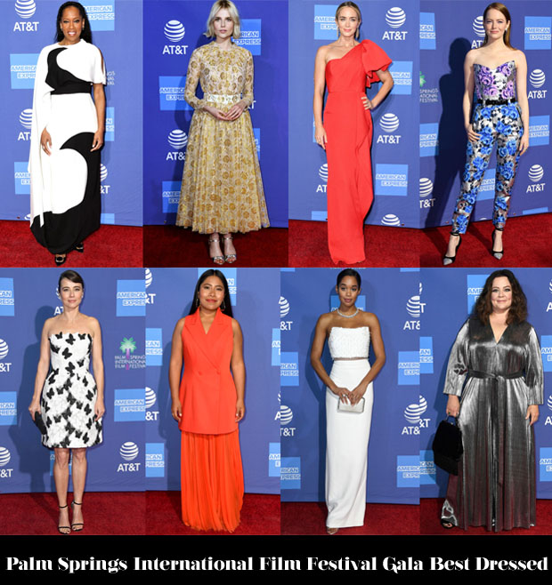 Fashion Blogger Catherine Kallon features Palm Springs International Film Festival Gala