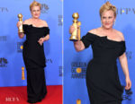 Fashion Blogger Catherine Kallon features Patricia Arquette In Vivienne Westwood - 2019 Golden Globe Awards