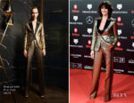 Fashion Blogger Catherine Kallon features Paz Vega In Dsquared2 - Feroz Awards 2019