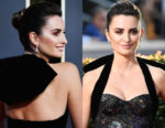 Fashion Blogger Catherine Kallon features Penelope Cruz's Luxuriously Elegant Peach-Toned Beauty Look at 2019 Golden Globes