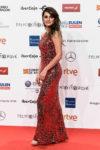 Fashion Blogger Catherine Kallon features Penelope Cruz In Galvan London - Forque Awards 2019